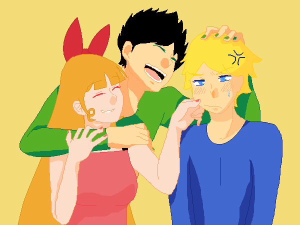 Blossom, Butch, and Boomer by Relin2003