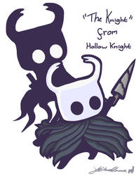 'The Knight' from Hollow Knight (2018)