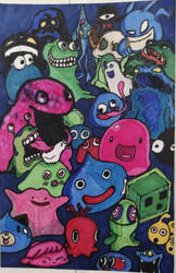 Blobs and Slimes