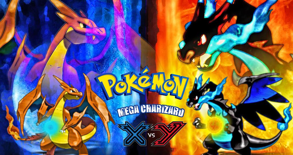 pokemon mega charizard X vs mega charizard Y by N4935has ...