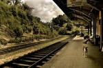 railway station - Ella by Moophlon