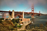 Golden Gate by Moophlon