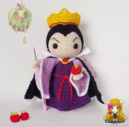 Evil Queen of Snow White Amigurumi