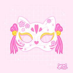 Kitsune Mask Sakura