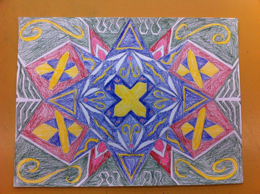 Islamic Mosaic/Pattern by ImperialPhoenixDrago