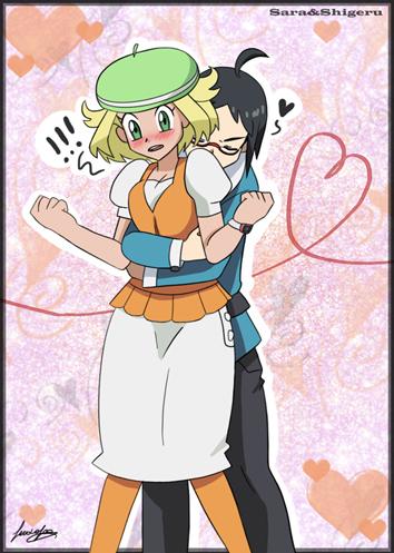Bianca and Cheren by sara by Sara-Sakurahime