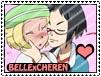 CherenxBelle stamp by sara by Sara-Sakurahime