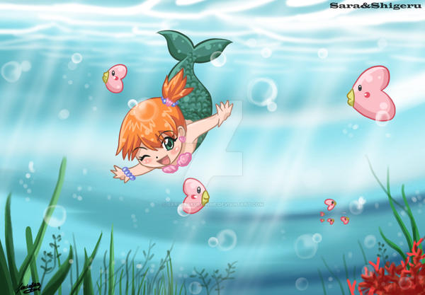 little mermaid by sara by Sara-Sakurahime on DeviantArt