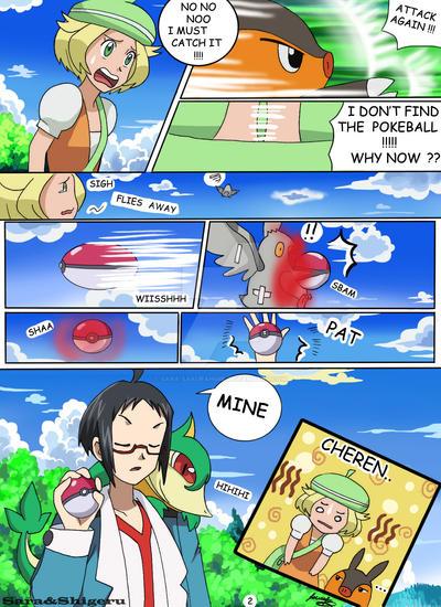 Pokemon Bw Manga 2 By Sara By Sara Sakurahime