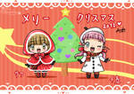 Merry Christmas with love by Sara