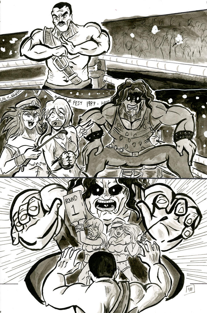Mad Gear Fest 1989 by DevanMuse