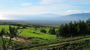 Haleakala looking to the Bay by Brian Dahlen