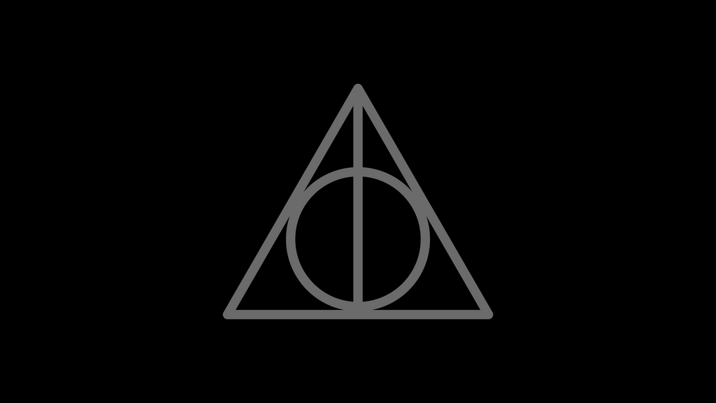 Harry Potter Deathly Hallows Symbol By Dragonshadesx On Deviantart