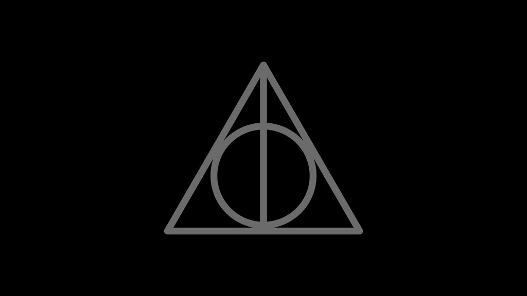 Harry Potter Deathly Hallows Symbol By Dragonshadesx On Deviantart