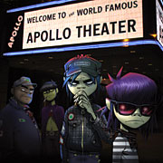 Gorillaz at the Apollo by Sizuki