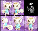 Marshal 10inch Plush Commission Animal Crossing by SweetStitches2423
