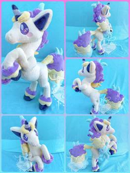Galarian Ponyta Rearing 16Inch Plush