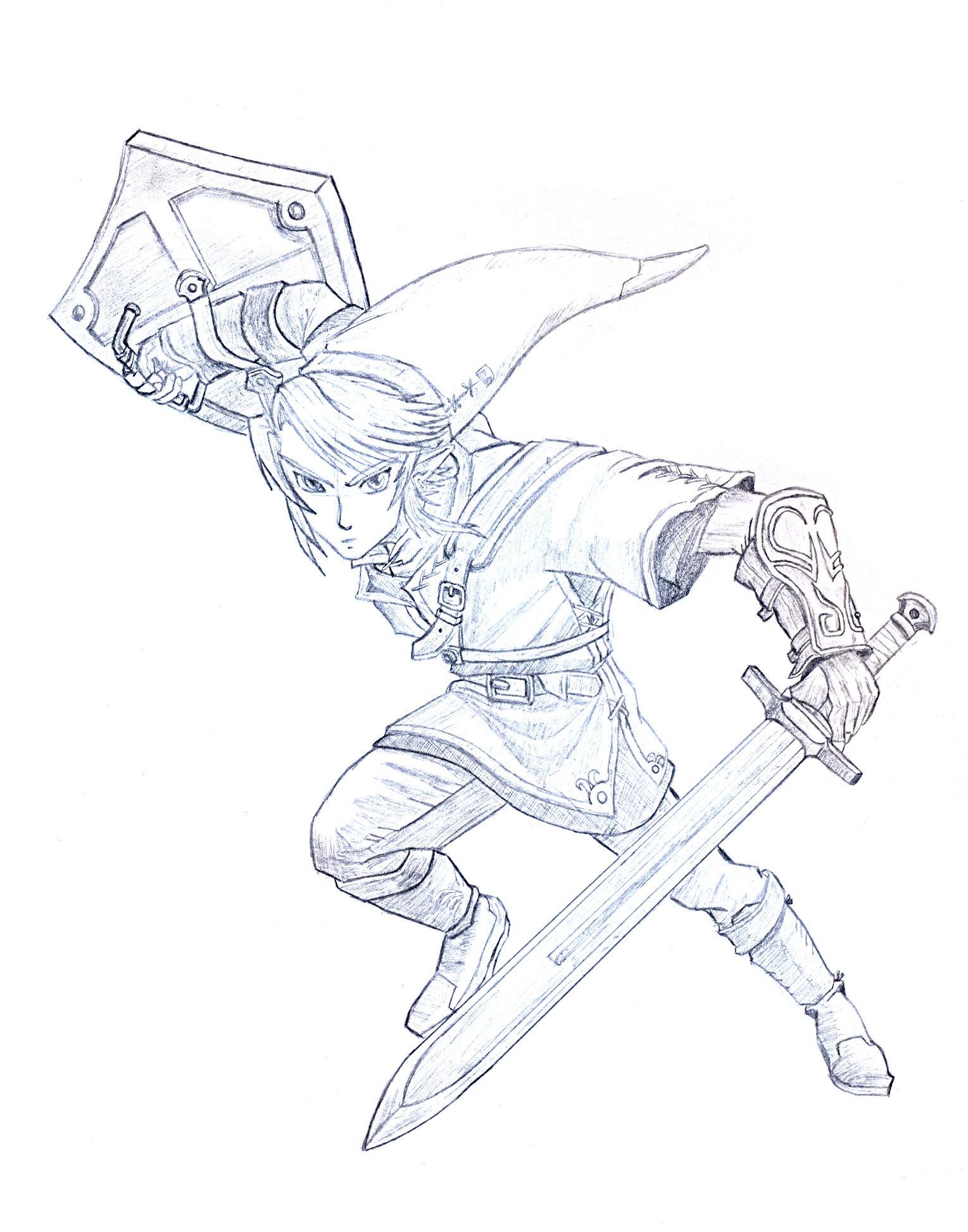 Link From The Legend Of Zelda By Gunnertnb On Deviantart