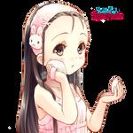 Anime render girl cute