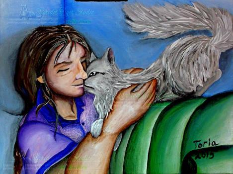 Susan And A Cat