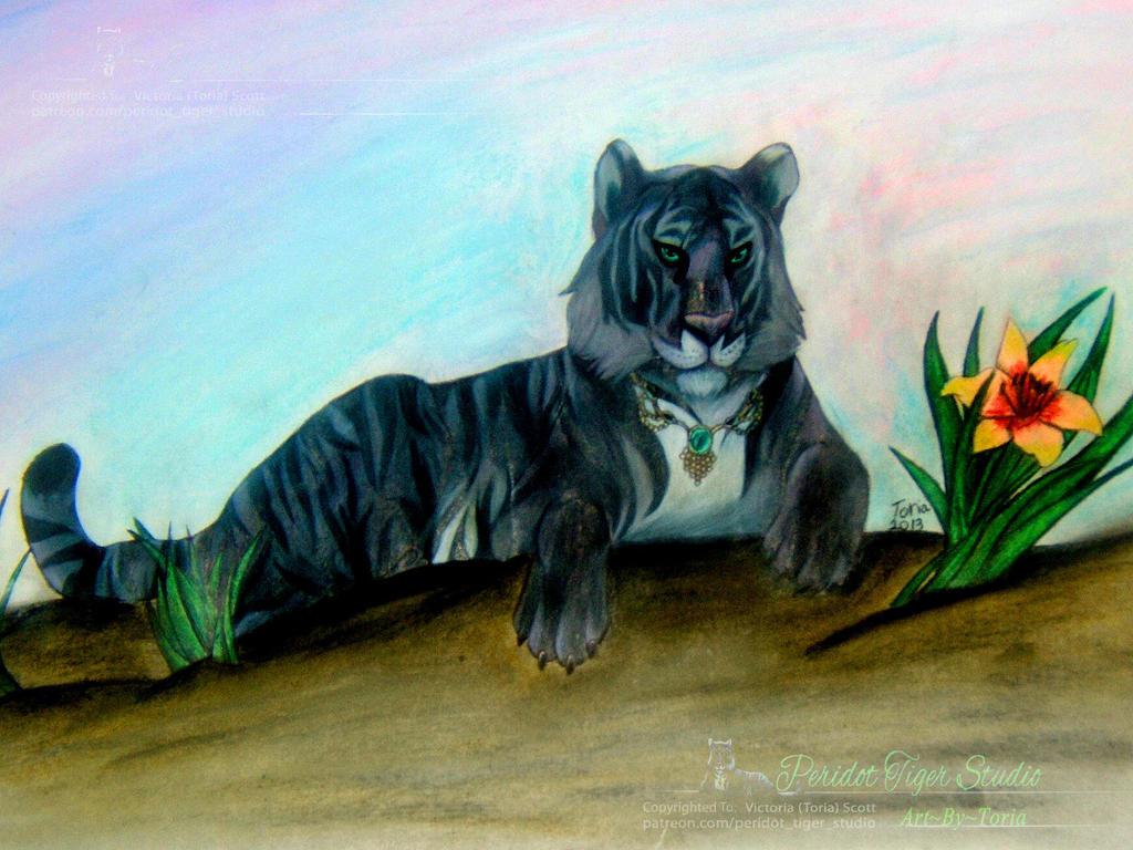 My Studio's Tiger Mascot (Her name is Kala)