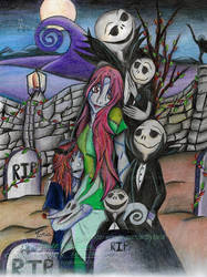 Nightmare Before Christmas Halloween Commission