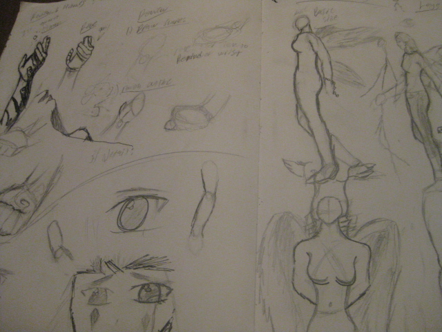 Sketchbook of a artist