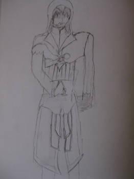 Ezio Rough drawing