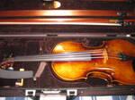 My violin, Gwen. :D