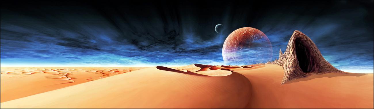 a Sietch on Arrakis - DUNE 01 by where-I-Am