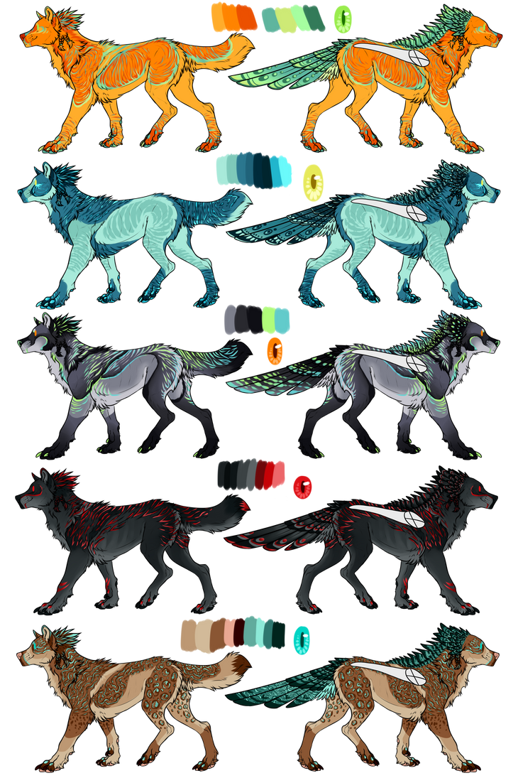 Species anaiya color examples by tiddylord on deviantart for Swedish fish colors