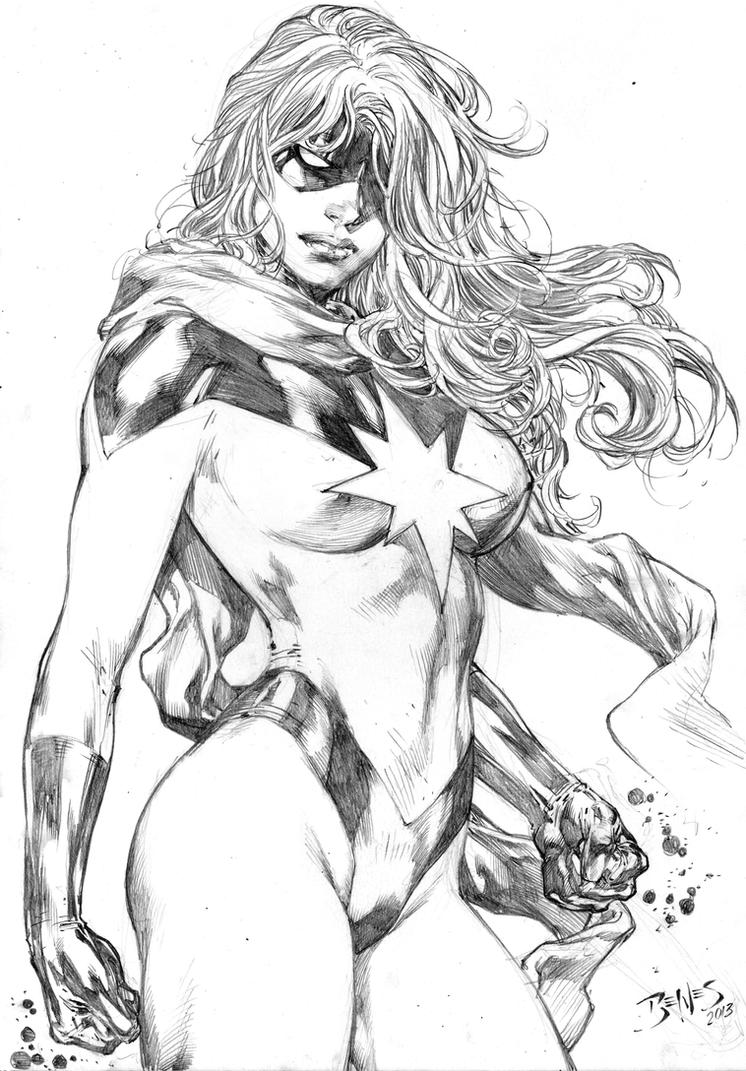 Miss Marvel by Ed-Benes