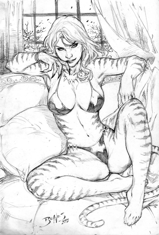 Tigra by Ed-Benes