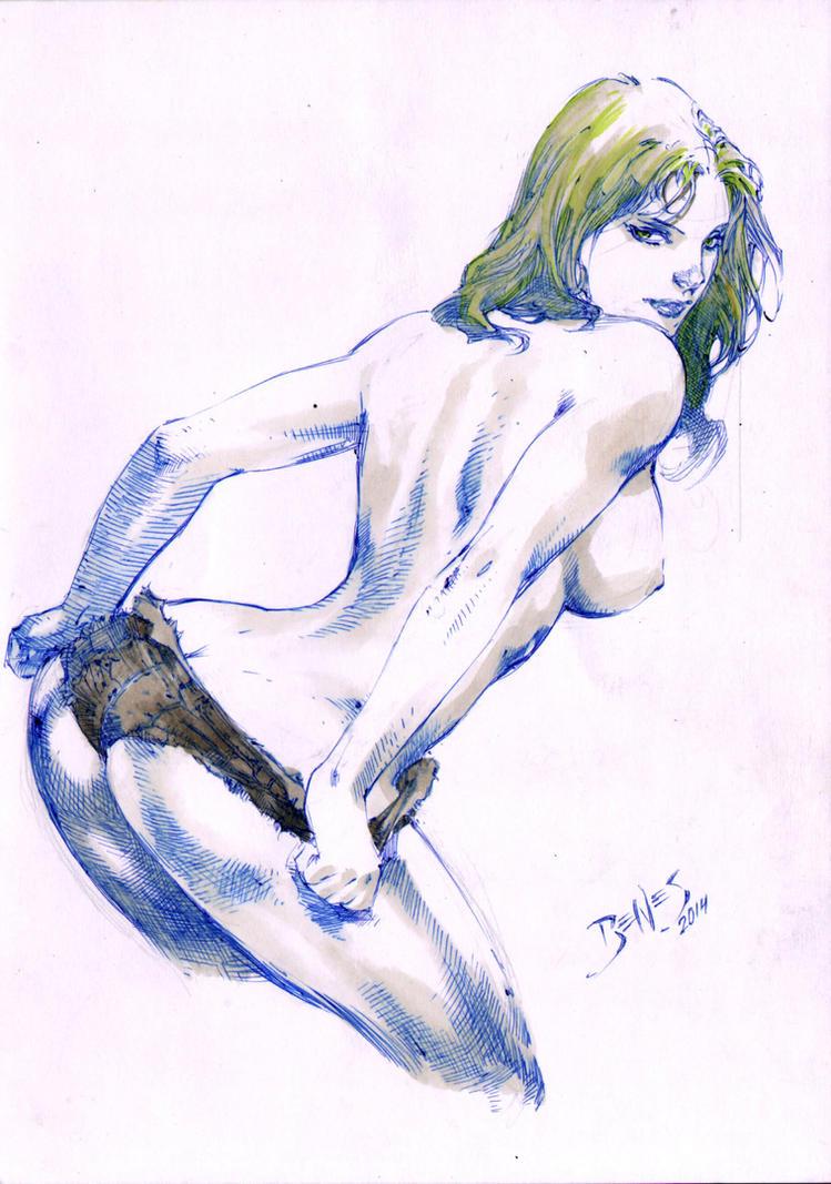 She-Hulk by Ed-Benes