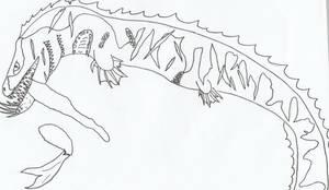 Hellish Sea Serpent