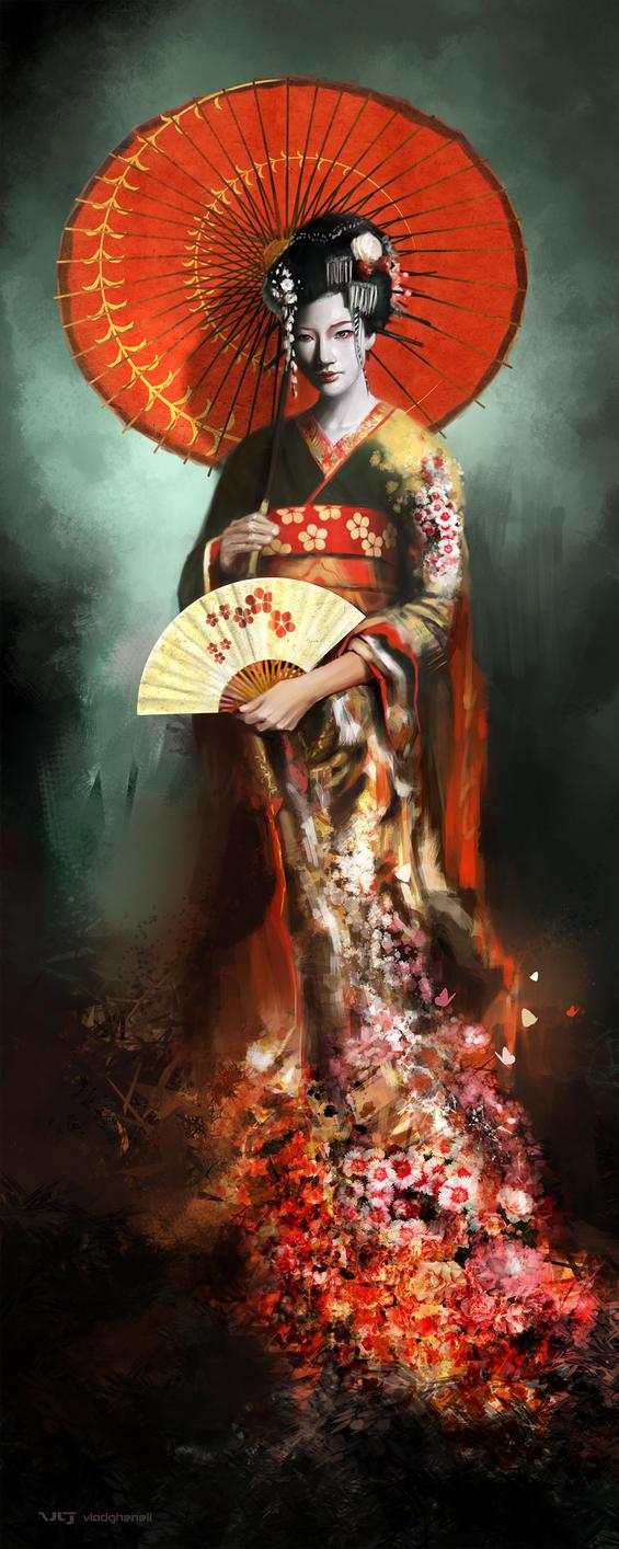 Geisha by vladgheneli