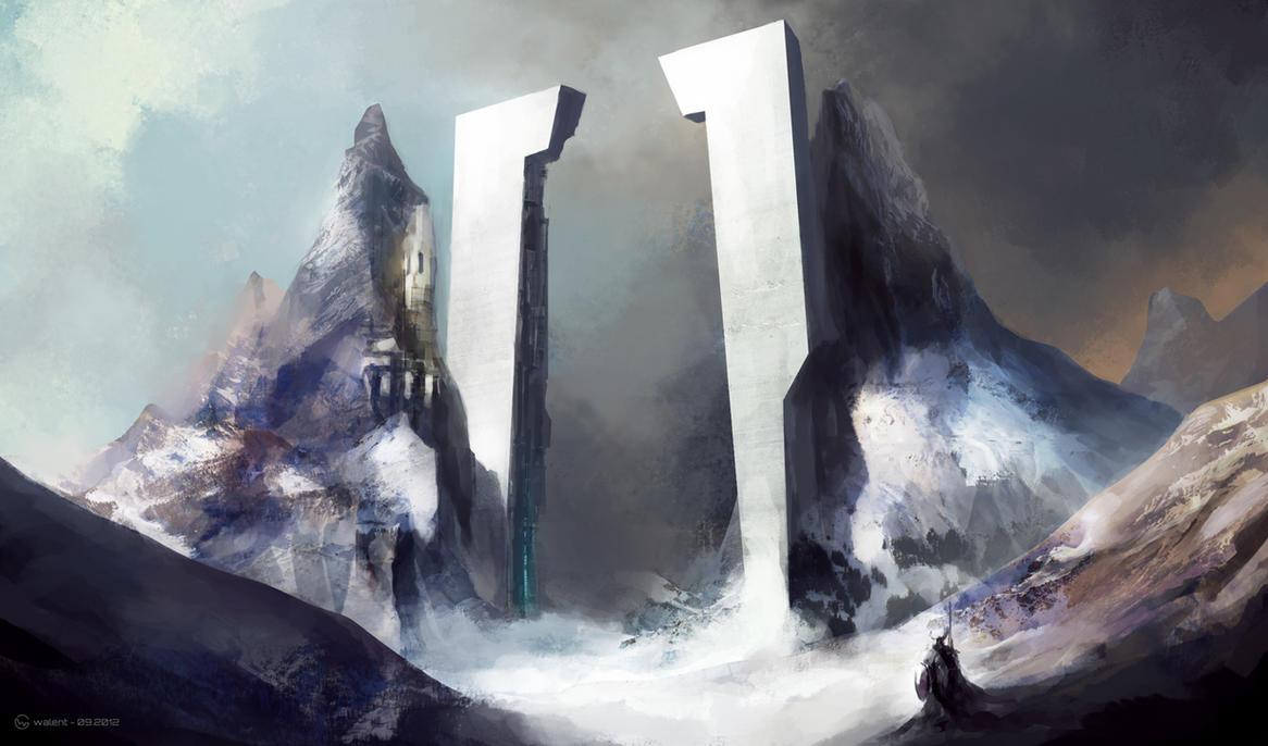 Northern Gate by vladgheneli