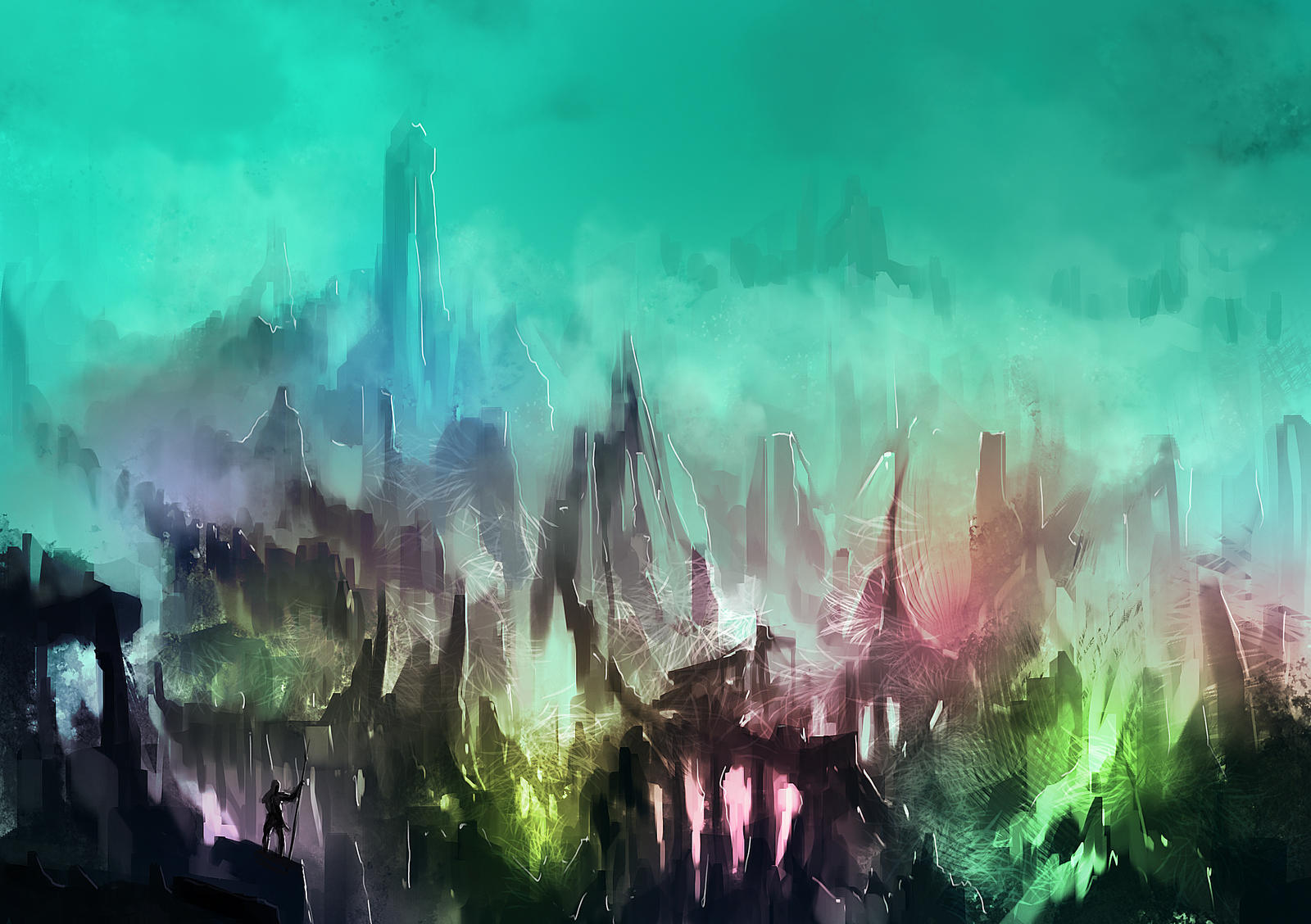 Crystal valley by vladgheneli