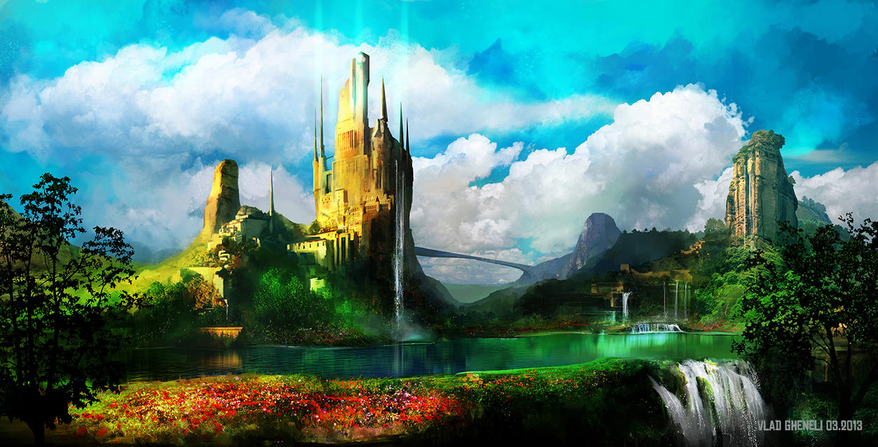 Fairy Tales Land By Vladgheneli On Deviantart