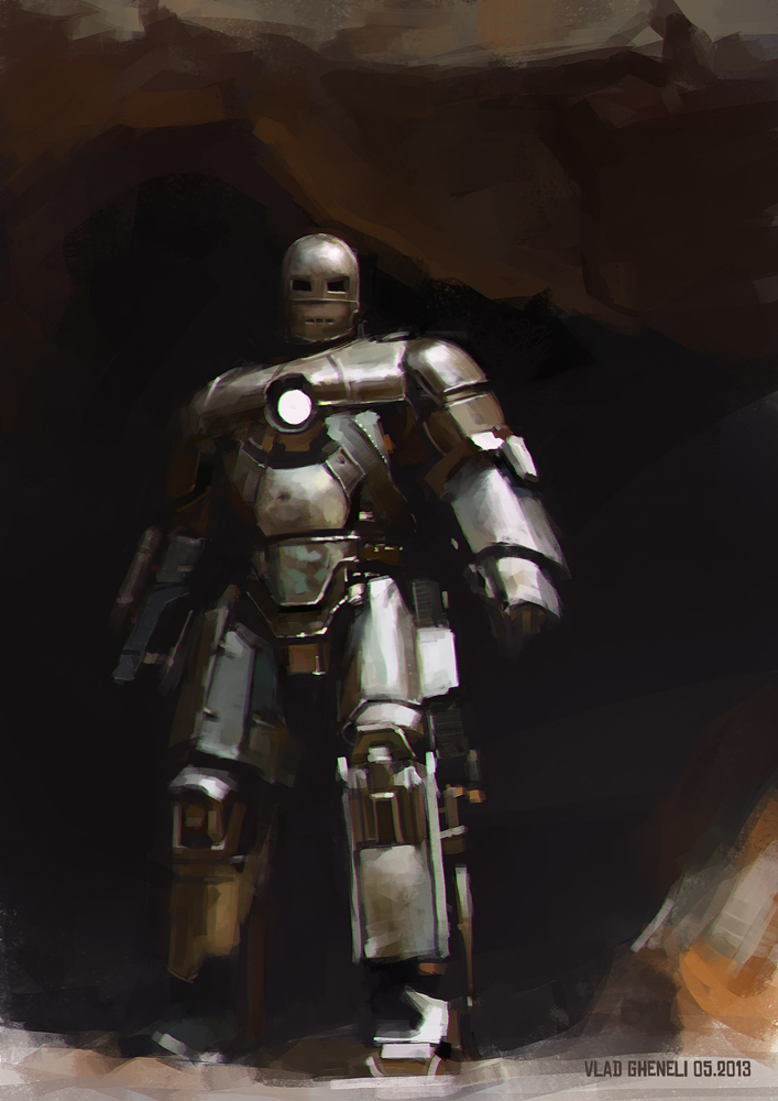 Iron Man study by vladgheneli