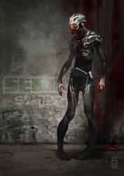 Sci-fi Zombie by vladgheneli