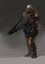 Bone Soldier Concept by vladgheneli