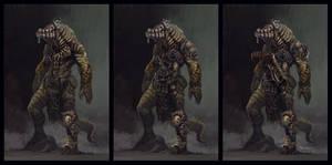 Crokodan warrior by vladgheneli