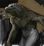 Croc Man Sketch