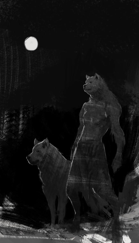Wolf Sketch by vladgheneli