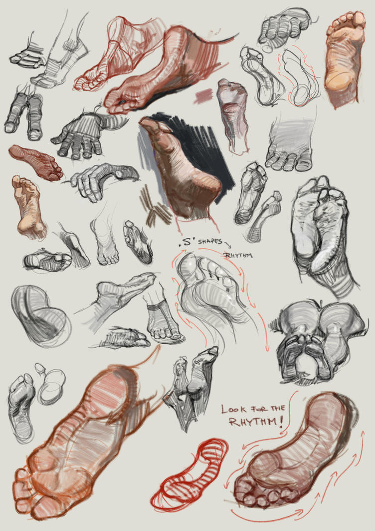 Feet Studies 6nov by vladgheneli
