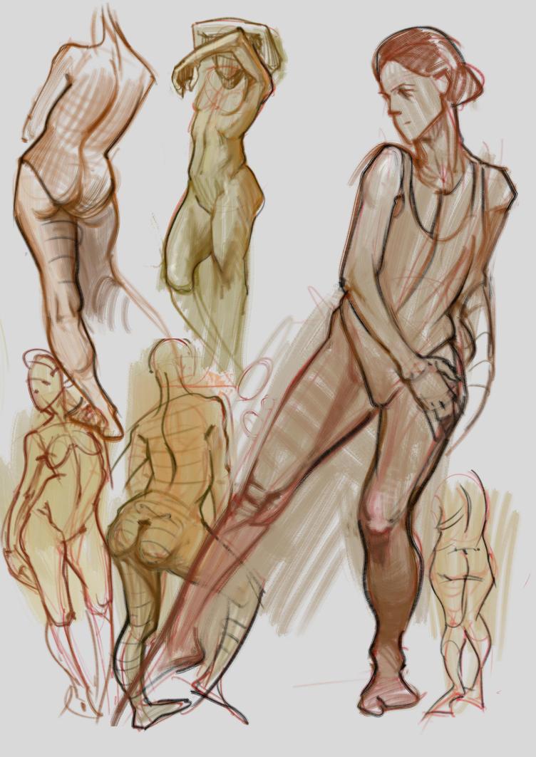 Studies 27 jan by vladgheneli
