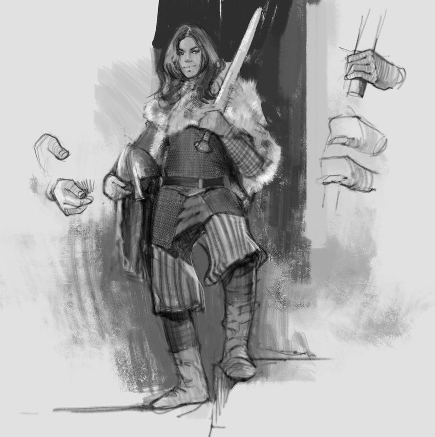 medieval armor study 01 by vladgheneli