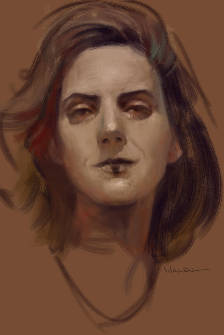 Girl portrait mar17th by vladgheneli