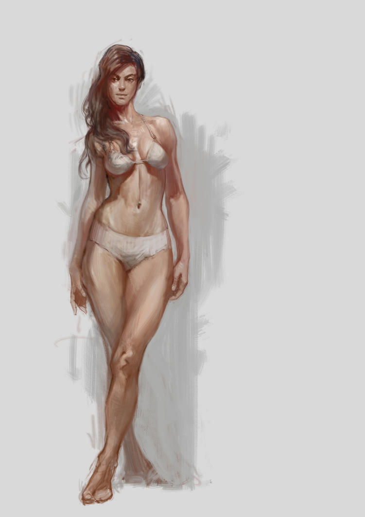 Human Female by vladgheneli